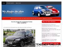 Ranking Webseite autoankauf-online.net