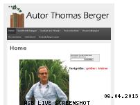 Ranking Webseite autor-thomas-berger.de
