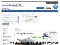 Ranking Webseite autoteile-direkt24.de