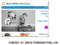 Ranking Webseite baby-bilder-drucken.com