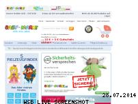Ranking Webseite baby-markt.de