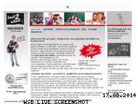 Informationen zur Webseite back2school.de