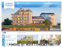 Ranking Webseite badhotel-sternhagen.de