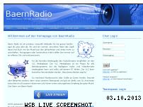 Ranking Webseite baernradio.de