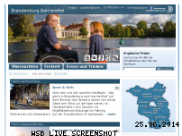 Ranking Webseite barrierefrei-brandenburg.de