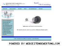 Informationen zur Webseite barth-tk-consulting.de