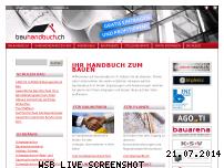Ranking Webseite bauhandbuch.ch