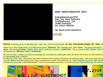 Ranking Webseite bauthermografie-infrarot.de
