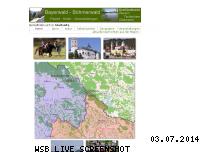 Ranking Webseite bayerwald-boehmerwald.de