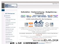 Ranking Webseite bcc-partnernet.de