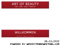 Ranking Webseite beautykiel.de