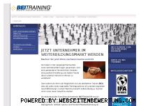 Ranking Webseite bei-franchise.de