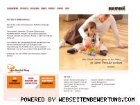 Ranking Webseite bembe.de