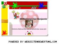 Ranking Webseite benjamin.at.nr