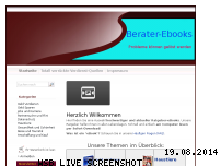 Informationen zur Webseite berater-ebooks.com