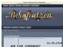 Informationen zur Webseite bergkatzen.de