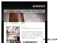 Ranking Webseite bergwerk.ag