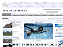 Informationen zur Webseite berlinstadtservice.de