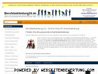 Ranking Webseite berufsbekleidung24.de