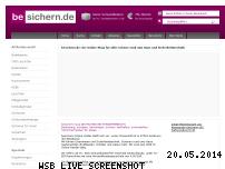 Ranking Webseite besichern.de
