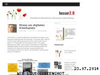 Ranking Webseite besser20.de