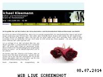 Ranking Webseite bestattungsbedarf-kleemann.de