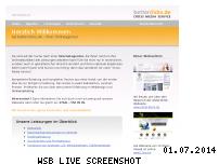Ranking Webseite betterclicks.de