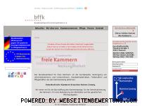 Ranking Webseite bffk.de