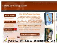 Ranking Webseite bielefelderkataloge.de