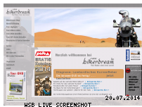 Informationen zur Webseite bikerdream.de