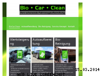 Ranking Webseite bio-car-clean.de