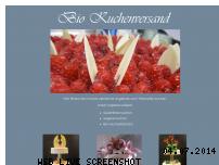 Informationen zur Webseite bio-kuchenversand.de