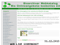 Informationen zur Webseite bioarchivar.de