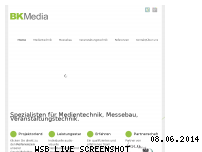 Informationen zur Webseite bk-media.tv