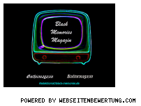 Ranking Webseite black-memories.de