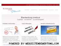Ranking Webseite blankenburgmedical.de
