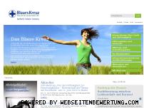 Informationen zur Webseite blaues-kreuz.de