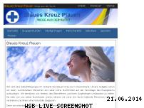 Informationen zur Webseite blaueskreuz-plauen.de