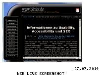 Informationen zur Webseite blmix.de