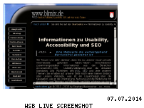 Ranking Webseite blmix.de