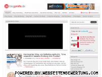 Ranking Webseite blogprofis.de