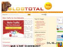 Ranking Webseite blogtotal.de