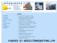 Ranking Webseite boenninger.com