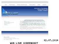 Ranking Webseite bohrer-lindt.de
