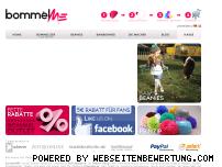 Ranking Webseite bommelme.com