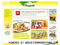 Ranking Webseite bonduelle.de