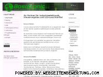 Informationen zur Webseite bosotronic.com