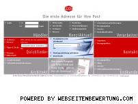 Ranking Webseite briefkasten.de