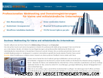 Ranking Webseite business-webhosting.de