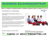 Ranking Webseite businessbildungszentrum.ch